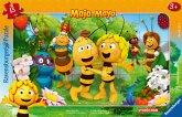 Ravensburger 06121 - Biene Majas Welt, 15 Teile Rahmenpuzzle