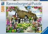 Verträumtes Cottage. Puzzle 500 Teile