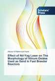 Effect of Nd-Yag Laser on The Morphology of lithium Oxides Used as Sand in Fast Breeder Reactors