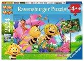 Ravensburger 09093 - Die kleine Biene Maja, Puzzle, 2 x 24 Teile