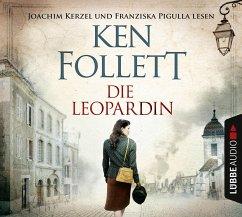 Die Leopardin, 6 Audio-CDs - Follett, Ken