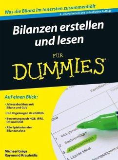 Bilanzen erstellen und lesen für Dummies (eBook, ePUB) - Griga, Michael; Krauleidis, Raymund