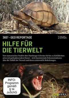 360° GEO Reportage: Hilfe für die Tierwelt DVD-Box - Diverse