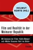 Film und Realität in der Weimarer Republik (eBook, ePUB)