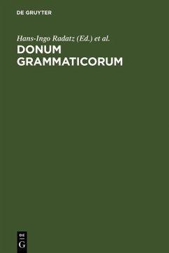 Donum Grammaticorum (eBook, PDF)