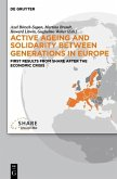 Active ageing and solidarity between generations in Europe (eBook, PDF)