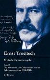 Die Absolutheit des Christentums und die Religionsgeschichte (1902/1912) (eBook, PDF)