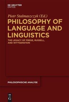 Philosophy of Language and Linguistics (eBook, PDF)