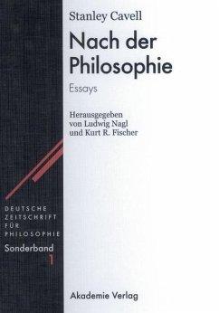 Nach der Philosophie (eBook, PDF) - Cavell, Stanley