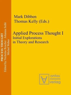 Applied Process Thought (eBook, PDF)