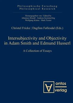 Intersubjectivity and Objectivity in Adam Smith and Edmund Husserl (eBook, PDF)