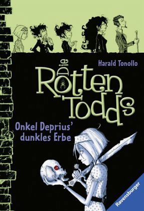 Buch-Reihe Die Rottentodds von Harald Tonollo