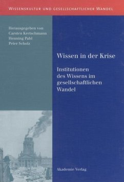 Wissen in der Krise (eBook, PDF)