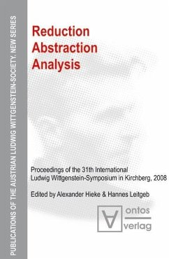 Reduction - Abstraction - Analysis (eBook, PDF)