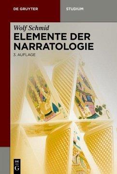 Elemente der Narratologie (eBook, ePUB) - Schmid, Wolf