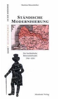 Ständische Modernisierung (eBook, PDF) - Mesenhöller, Mathias