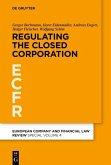 Regulating the Closed Corporation (eBook, PDF)