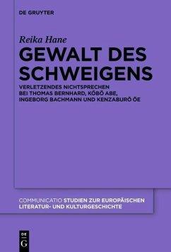Gewalt des Schweigens (eBook, ePUB) - Hane, Reika