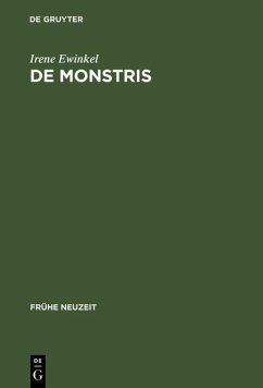 De monstris (eBook, PDF) - Ewinkel, Irene