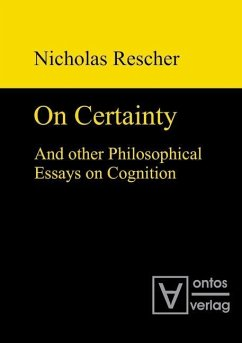 On certainty and other philosophical essays on cognition (eBook, PDF) - Rescher, Nicholas
