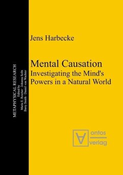 Mental Causation (eBook, PDF) - Harbecke, Jens