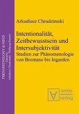 Intentionalität, Zeitbewusstsein und Intersubjektivität (eBook, PDF)