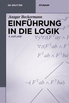 Einführung in die Logik (eBook, PDF) - Beckermann, Ansgar