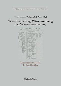 Wissenssicherung, Wissensordnung und Wissensverarbeitung (eBook, PDF)