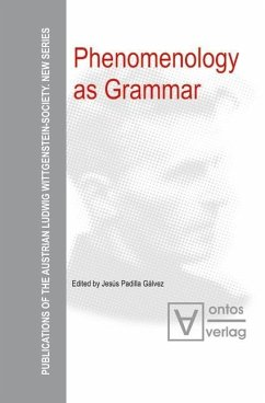 Phenomenology as Grammar (eBook, PDF)