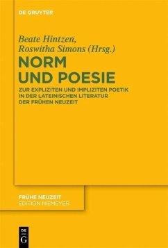 Norm und Poesie (eBook, PDF)