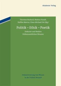 Politik - Ethik - Poetik (eBook, PDF)