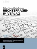 Rechtsfragen im Verlag (eBook, ePUB)