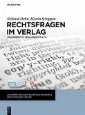 Rechtsfragen im Verlag (eBook, PDF)