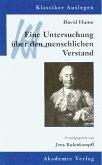 David Hume: Eine Untersuchung über den menschlichen Verstand (eBook, PDF)