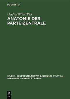 Anatomie der Parteizentrale (eBook, PDF)