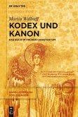 Kodex und Kanon (eBook, PDF)