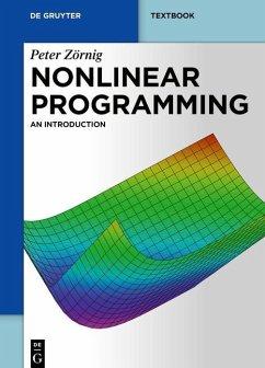 Nonlinear Programming (eBook, ePUB) - Zörnig, Peter