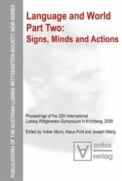 Signs, Minds and Actions (eBook, PDF) - Munz, Volker; Puhl, Klaus; Wang, Joseph