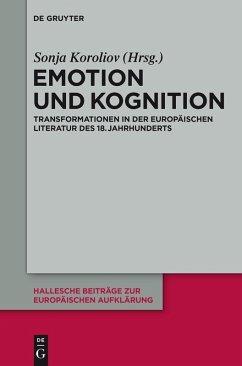 Kognition und Emotion (eBook, PDF)