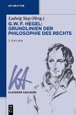 G. W. F. Hegel - Grundlinien der Philosophie des Rechts (eBook, ePUB)