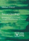 Social Ontology (eBook, PDF)