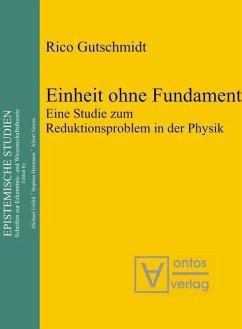 Einheit ohne Fundament (eBook, PDF) - Gutschmidt, Rico