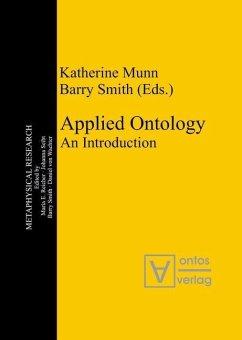 Applied Ontology (eBook, PDF)