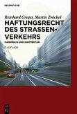 Haftungsrecht des Straßenverkehrs (eBook, PDF)