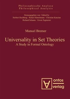 Universality in Set Theories (eBook, PDF) - Bremer, Manuel