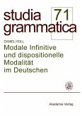 Modale Infinitive und dispositionelle Modalität im Deutschen (eBook, PDF)