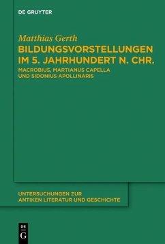 Bildungsvorstellungen im 5. Jahrhundert n. Chr. (eBook, PDF) - Gerth, Matthias