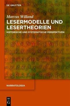Lesermodelle und Lesertheorien (eBook, PDF) - Willand, Marcus