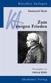 Immanuel Kant: Zum ewigen Frieden (eBook, PDF)