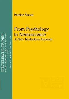 From Psychology to Neuroscience (eBook, PDF) - Soom, Patrice